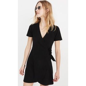 Madewell Texture & Thread Side Tie Wrap Dress